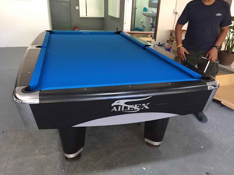 Customer References Thailand Billiard - Brunswick metro pool table